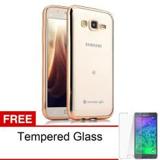 Case Ultrathin Shining Chrome Untuk Samsung Galaxy J3 Duos Lama / J3 2015