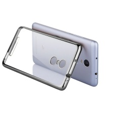 Case Ultrathin Shining List Chrome For Xiaomi Redmi Note 4 - Silver