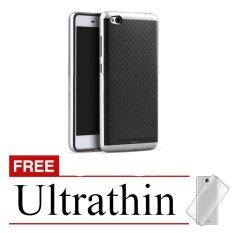 Spesifikasi Case Xiaomi Redmi 3 Neo Hybrid Silver Gratis Ultrathin Case Terbaru