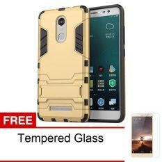 Harga Case Xiaomi Redmi Note 3 Casing Transformer Series Gold Free Tempered Glass Seken