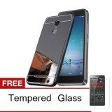 Harga Case Xiaomi Redmi Note 4 Bumper Mirror Slide Hitam Tempered Glass Origin