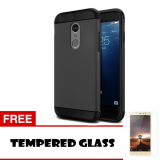 Spesifikasi Case Xiaomi Redmi Pro Slim Armor Hitam Tempered Glass Online