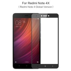 Caselova Premium Tempered Glass Warna Full Cover For Xiaomi Redmi Note 4X / Note 4 Versi Snapdragon
