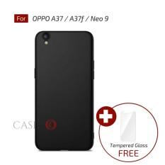 Rp 17.900. Caselova UltraSlim Black Matte Hybrid Case for OPPO A37 / A37f / Neo 9 ...