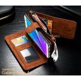 Harga Caseme 007 Samsung Galaxy Note 4 Wallet Case With 13 Sloth Card Zipper Slot Asli