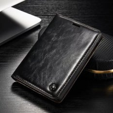 Spesifikasi Caseme Kulit Minyak Wax Flip Cover Untuk Blackberry Passport Silver Edition Black Intl Lengkap Dengan Harga