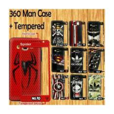Case/SoftCase Man Case Karakter Samsung J7Pro Free Tempered Glass Karakter BBS