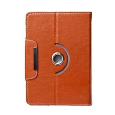 Casing 360 Rotate Tablet Cover Case untuk Alcatel OneTouch EVO 8HD - Coklat