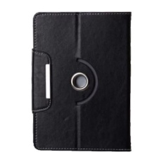 Casing 360 Rotate Tablet Cover Case untuk Huawei MediaPad 7 Vogue - Hitam
