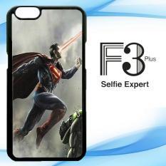 Casing Custom Batman VS Superman Movies Fight OPPO F3 Plus Case Cover Hardcase