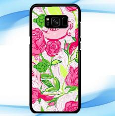 Casing Custom Delta Zeta Lilly Pulitzer Samsung Galaxy S8 Case Cover Hardcase