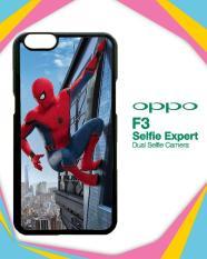 Casing Custom Hardcase OPPO F3  spiderman homecoming 2017 Z4988 Case Cover