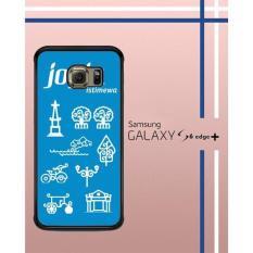 Casing Custom Hardcase Polycarbonate Hp Samsung Galaxy S6 Edge Plus Case Cover JOGJA ISTIMEWA W3872