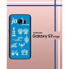 Casing Custom Hardcase Polycarbonate Hp Samsung Galaxy S7 Edge Case Cover JOGJA ISTIMEWA W3872