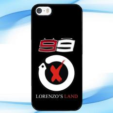 Casing Custom Jorge Lorenzo 99 IPHONE 5 5S Case Cover Hardcase