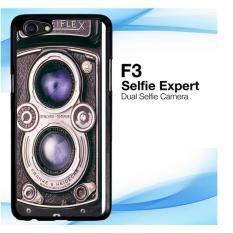 Casing Custom Vintage rolleiflex camera OPPO F3 Case Cover Hardcase