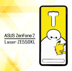 Casing gambar motif HARDCASE untuk hp Asus ZenFone 2 Laser ZE551KL Baymax X Pikachu E0587