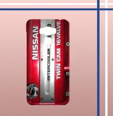 Casing gambar motif HARDCASE untuk hp Asus ZenFone 3 Max ZC553TL Nissan sr20det JDM Engine