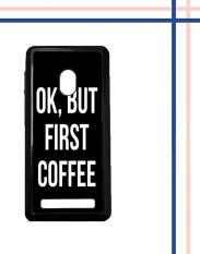 Casing gambar motif HARDCASE untuk hp Asus ZenFone 5 OK, But First Coffee B0186