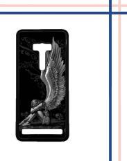 Casing gambar motif HARDCASE untuk hp Asus ZenFone Selfie ZD551KL Sad Angel