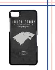 Casing gambar motif HARDCASE untuk hp Blackberry Z10 Game Of Thrones - house stark