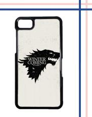 Casing gambar motif HARDCASE untuk hp Blackberry Z10 Game Of Thrones Stark - Winter Is Coming