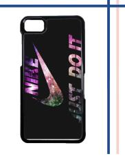 Casing gambar motif HARDCASE untuk hp Blackberry Z10 Nike Just Do It Galaxy Nebula - 01