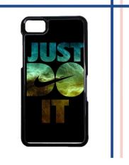 Casing gambar motif HARDCASE untuk hp Blackberry Z10 Nike Just Do It Galaxy Nebula - 02