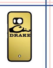 Casing gambar motif HARDCASE untuk hp HTC One U11 Drake Waterfowl Gold