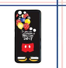 Harga Casing Gambar Motif Hardcase Untuk Hp Lenovo K5 K5 Plus Mickey Mouse Quotes Q0193 Baru Murah