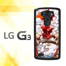 Casing gambar motif HARDCASE untuk hp LG G3 Non Stylus Monkey D Luffy Gear Second