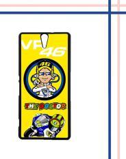 Pusat Jual Beli Casing Gambar Motif Hardcase Untuk Hp Sony Xperia C5 Ultra C5 Valentino Rossi Q0063 Jawa Tengah