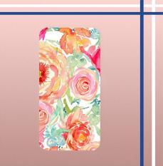 Toko Casing Gambar Motif Hardcase Untuk Hp Xiaomi Mi 5C Flower Watercolor E0558 Online Jawa Tengah