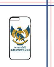 Casing Gambar Motif HARDCASE Untuk iPhone 6S / iPhone 6 Real Madrid Indonesia Case