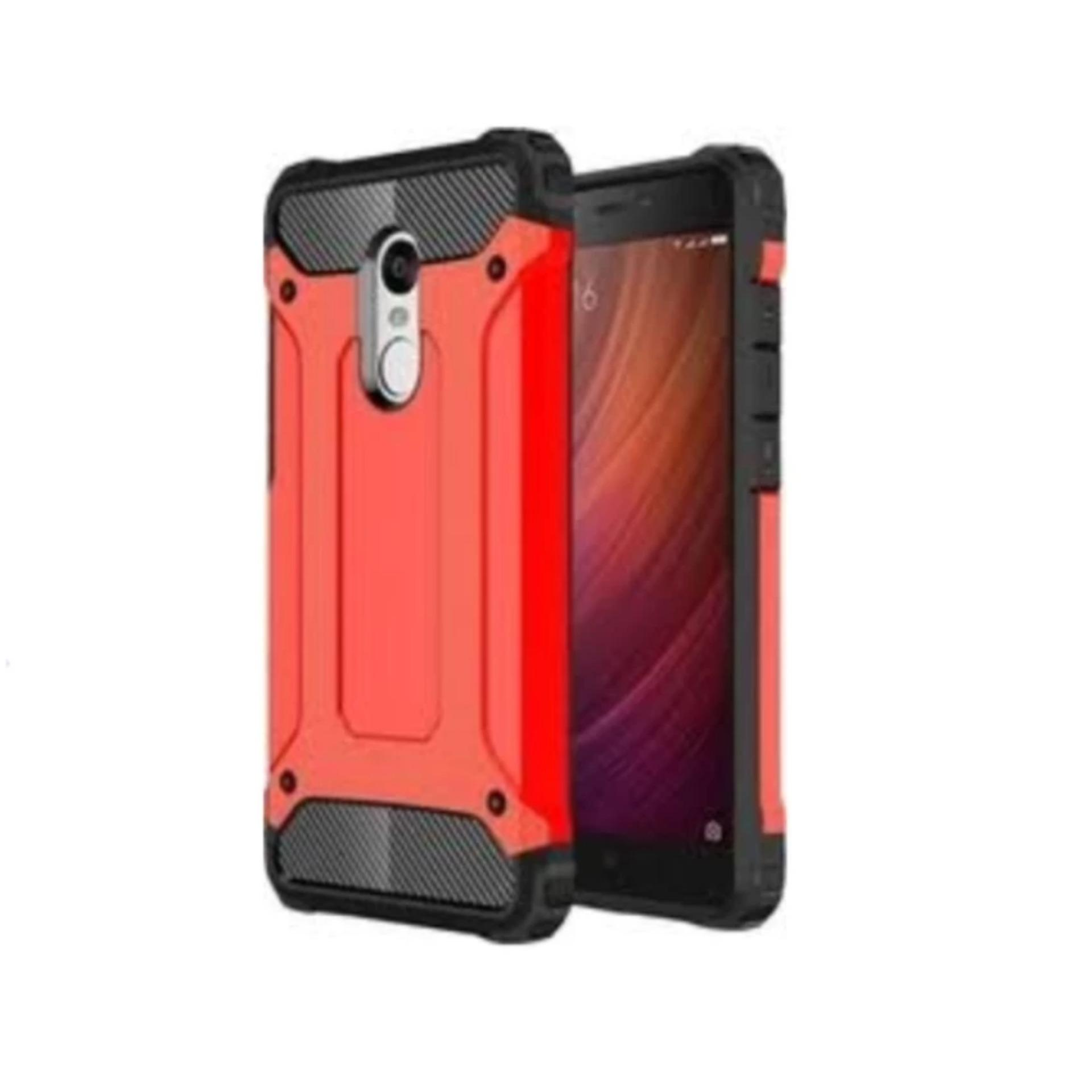 Casing Handphone Iron Robot Hardcase for Xiaomi Redmi Note 4x - ABS
