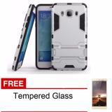 Casing Handphone Samsung Galaxy J5 2016 Seri Ironman Kickstand Free Tempered Glass Casing Handphone Diskon 40