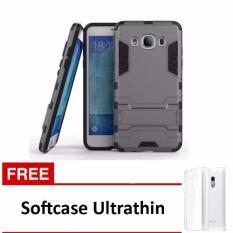 Harga Casing Handphone Samsung Galaxy J5 2016 Seri Ironman Kickstand Free Ultrathin Yang Murah Dan Bagus