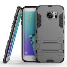 Casing Handphone Samsung S7 edge Seri Ironman Kickstand