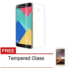 Casing Handphone Softcase Ultrathin Samsung Galaxy A5 2016 / A510 – Clear  + Free Tempered Glass