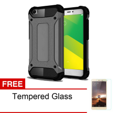 Jual Casing Handphone Untuk Oppo F1 S A59 Slim Armor Carbon Series Black Free Tempered Glass Online