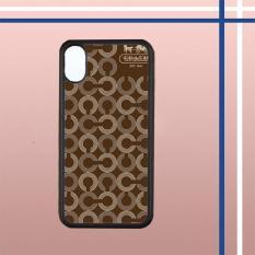 Tips Beli Casing Hardcase Bergambar Iphone X Coach Pattern X4859 Case Cover Yang Bagus