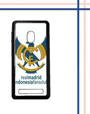 Casing HARDCASE Bergambar Motif Untuk Asus Zenfone 5 Real Madrid Indonesia Case