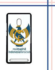Casing HARDCASE Bergambar Motif Untuk Asus Zenfone 6 Real Madrid Indonesia Case