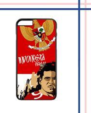 Casing HARDCASE Bergambar Motif Untuk Handphone iPhone 6 / iPhone 6S Timnas INDONESIA W3862 Case Cover