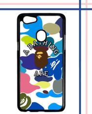 Casing HARDCASE Bergambar Motif Untuk Handphone Oppo F5 A BATHING APE W5104 Case Cover