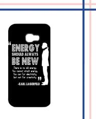 Casing HARDCASE Bergambar Motif Untuk Handphone Samsung Galaxy A3 2017 SM-A320 Karl Lagerfeld quote Case Cover