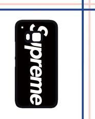 Casing HARDCASE Bergambar Motif Untuk HTC One M9 supreme Case