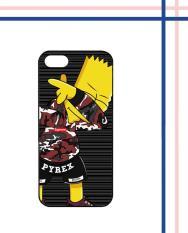 Casing HARDCASE Bergambar Motif Untuk iPhone 5 / iPhone 5S / iPhone SE Bart Hypebeast supreme Z5300 Case Cover