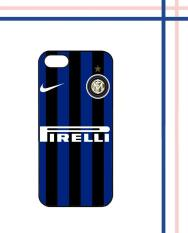 Casing HARDCASE Bergambar Motif Untuk iPhone 5 / iPhone 5S / iPhone SE Blue Black inter Milan Case Cover