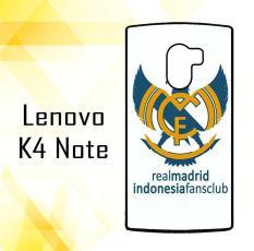 Casing HARDCASE Bergambar Motif Untuk Lenovo K4 Note / A7010 Real Madrid Indonesia Case